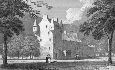 Meggernie Castle www.bogles.co.uk bogle ghost witch witchcraft magic goblinshead