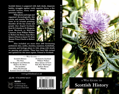 Scottish History | Wee Guide | Martin Coventry | Goblinshead | 9781899874019