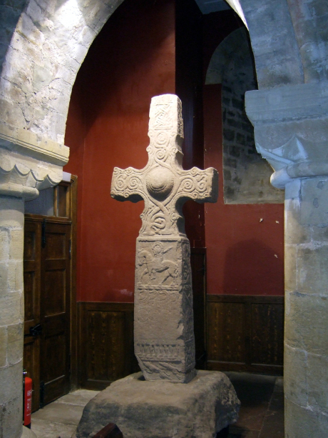 Dupplin Cross, Dunning | Pictish sculpted stone | The Picts | Wee Guide | Duncan Jones| Goblinshead | 9781899874125