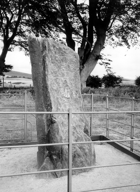 Picardy Stone, Myreton | Pictish sculpted stone | The Picts | Wee Guide | Duncan Jones| Goblinshead | 9781899874125