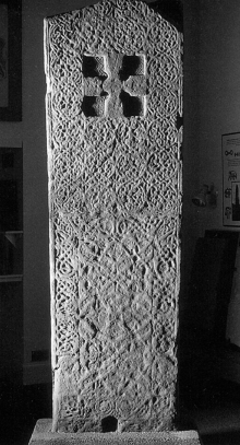 Groam House | Rosemarkie Cross | Pictish sculpted stone | The Picts | Wee Guide | Duncan Jones| Goblinshead | 9781899874125 | © S. E. Seright: Rosemarkie Cross