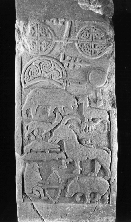 St Vigeans Stones and Museum | Pictish sculpted stone | The Picts | Wee Guide | Duncan Jones| Goblinshead | 9781899874125 | © Historic Environment Scotland
