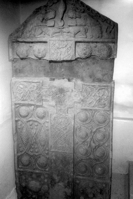 Nigg Old Parish Church | Pictish sculpted stone | The Picts | Wee Guide | Duncan Jones| Goblinshead | 9781899874125 | © Martin Coventry