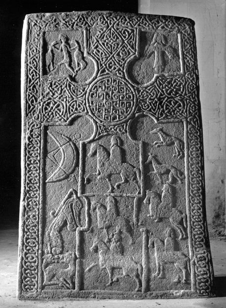 Rossie Priory | Pictish sculpted stone | The Picts | Wee Guide | Duncan Jones| Goblinshead | 9781899874125 | © Tom Gray