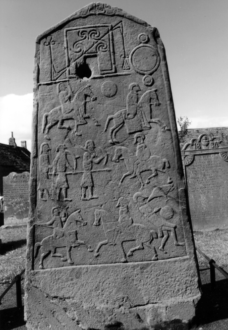 Aberlemno | Pictish sculpted stone | The Picts | Wee Guide | Duncan Jones| Goblinshead | 9781899874125 | © Martin Coventry